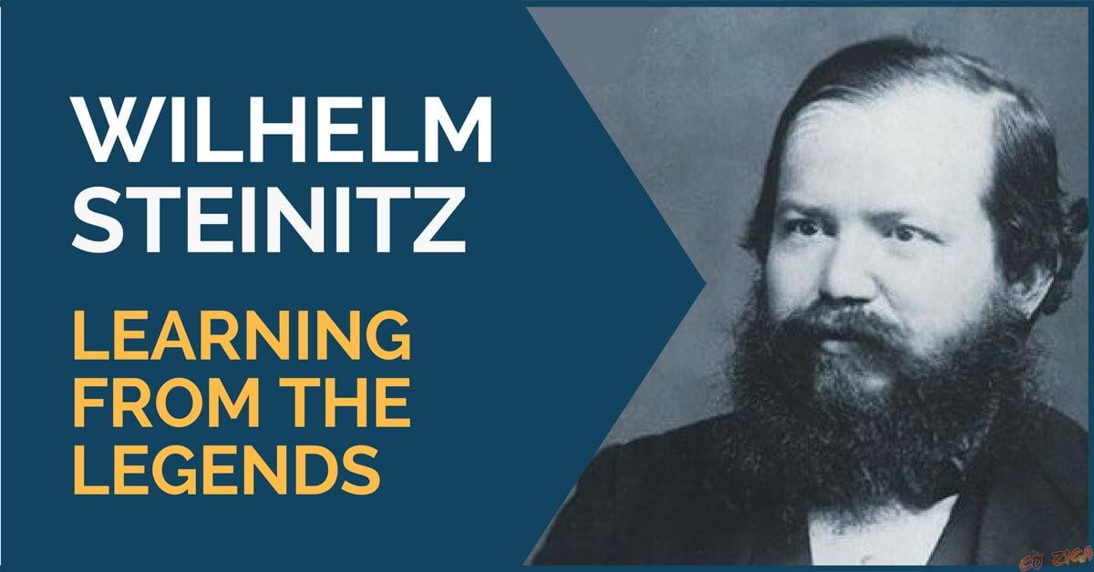 Chân dung cờ thủ người Áo Wilhelm Steinitz